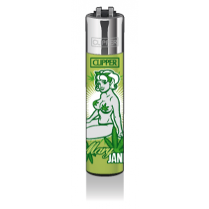 CLIPPER Feuerzeug Mary Jane PinUps #2 - Short