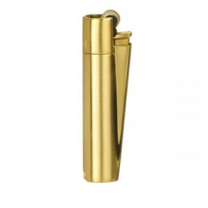 CLIPPER Feuerzeug Metal Flint (gold-brushed)
