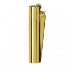 CLIPPER Feuerzeug Metal Flint (gold-shiny)