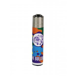 CLIPPER Feuerzeug Bulldog Liquid Colors #1