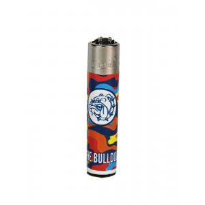 CLIPPER Feuerzeug Bulldog Liquid Colors #2