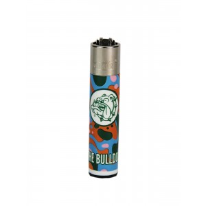 CLIPPER Feuerzeug Bulldog Liquid Colors #3