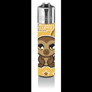 CLIPPER Feuerzeug Cute Pets (braun)