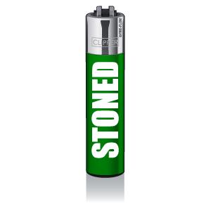 CLIPPER Feuerzeug Statement #14 - Stoned
