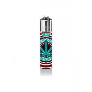 CLIPPER Feuerzeug Oriental Leafs - Mint