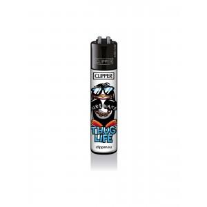 CLIPPER Feuerzeug Pinguine - Thug Life