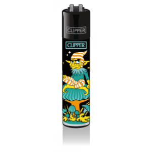 CLIPPER Feuerzeug Shrooms #3 - Turquoise