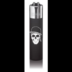 CLIPPER Feuerzeug Skullz Cap