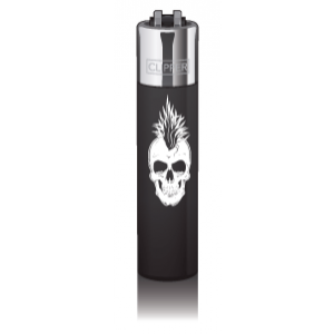 CLIPPER Feuerzeug Skullz Punk
