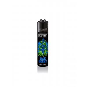 CLIPPER Feuerzeug Strains #2 - Blue Berry