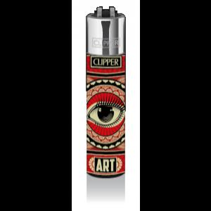 CLIPPER Feuerzeug Streetart #5 Art