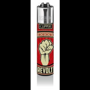 CLIPPER Feuerzeug Streetart #5 Revolt