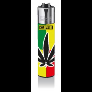 CLIPPER Feuerzeug Warhol Leaf #2