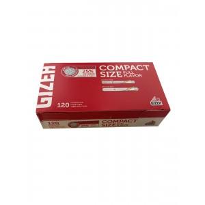 Gizeh Compact Size, 120 Filterhülsen