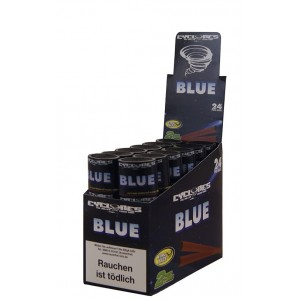 Cyclones Hemp Blunt Blue, 24er Box