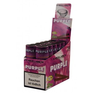 Cyclones Hemp Blunt Purple, 24er Box