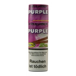 Cyclones Hemp Blunt Purple, einzeln