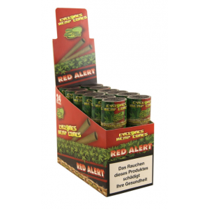 Cyclones Hemp Blunt Red Alert, 24er Box