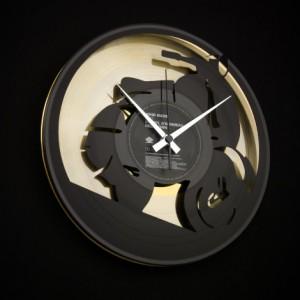 "Wanduhr ""Vespa Gold"" (DISC'O'CLOCK)"