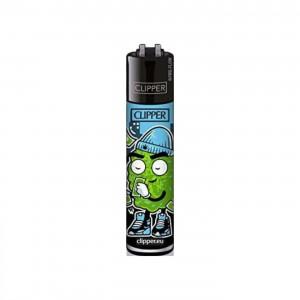 CLIPPER Feuerzeug 420 Buddies blau