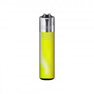 CLIPPER Feuerzeug Fluo Nebula gelb