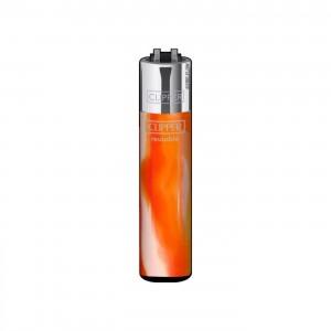 CLIPPER Feuerzeug Fluo Nebula orange