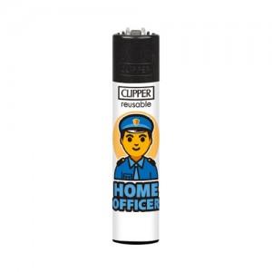 CLIPPER Feuerzeug Home Officer