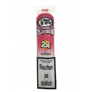 Blunt Wrap Double Platinum Pink 2er Packung