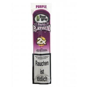 Blunt Wrap Double Platinum Purple 2er Packung