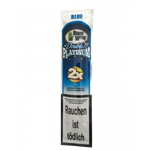 Blunt Wrap Double Platinum Blue 2er Packung