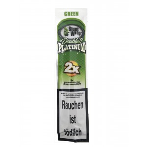 Blunt Wrap Double Platinum Green 2er Packung