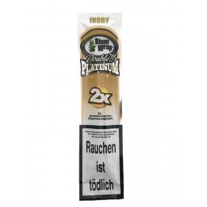 Blunt Wrap Double Platinum Ivory 2er Packung