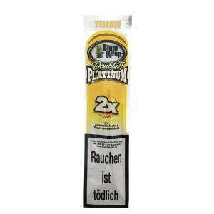 Blunt Wrap Double Platinum Yellow 2er Packung