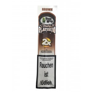 Blunt Wrap Double Platinum Brown 2er Packung