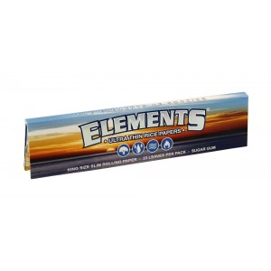 ELEMENTS King Size Slim Papers, Heftchen einzeln