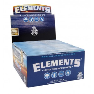 ELEMENTS King Size Slim Papers, 50er Box
