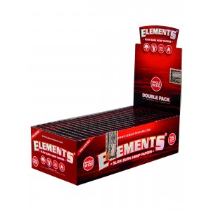 ELEMENTS Red Papers Single Wide, 25er Box