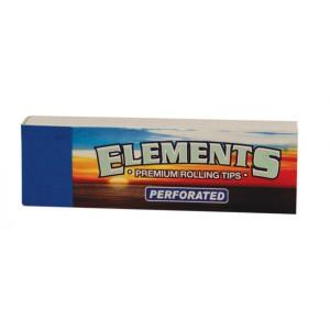 ELEMENTS Perforated Filter Tips, Heftchen einzeln