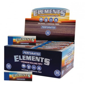 ELEMENTS Perforated Filter Tips, 50er Box