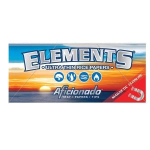 ELEMENTS Aficionado (Tray + Papers + Tips), einzeln