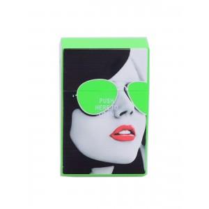 Zigaretten Click Box grün (Girl)