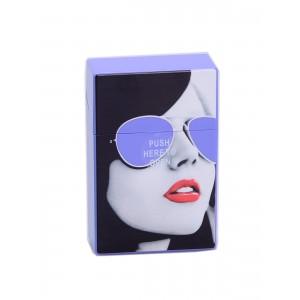 Zigaretten Click Box lila (Girl)