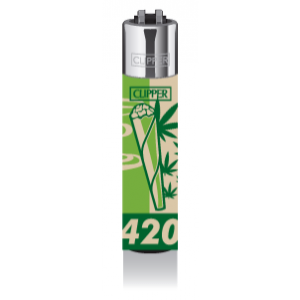 CLIPPER Feuerzeug Fourtwenty - Smoke