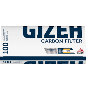 Gizeh Carbon, 100 Aktivkohle Filterhülsen