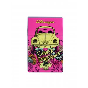 Zigaretten Click Box Flower Power pink