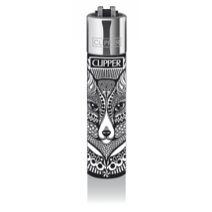 CLIPPER Feuerzeug Tattoo Animals (Fox)