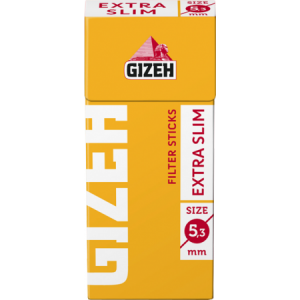 Gizeh Tip-Sticks Extra Slim Knickfilter 5,3 mm, 126er Pack