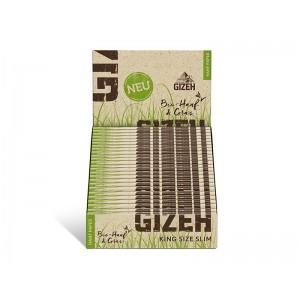 Gizeh Hanf & Gras King Size Slim 25er Box