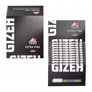 Gizeh Black Extra Fine Regular Papers mit Magnet, 20er Box