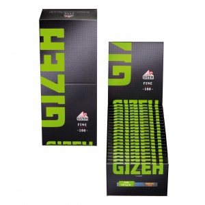 Gizeh Black Fine Papers mit Magnet, 20er Box